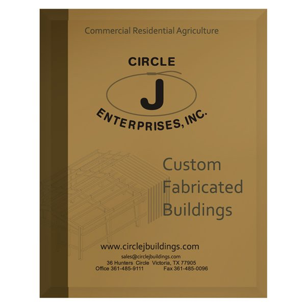 Circle J Enterprises Construction Company Folder (Front View)