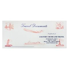 Country Cruise & Travel Documents Folder (Front View)