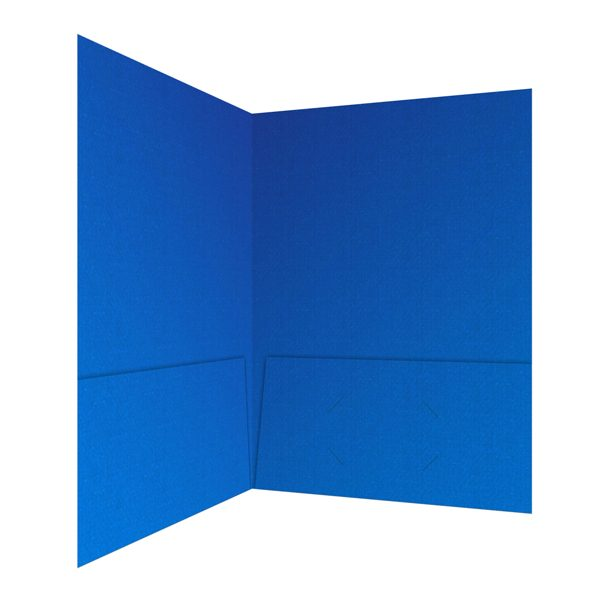 Delaware State University Blue Pocket Folder (Inside Right View)