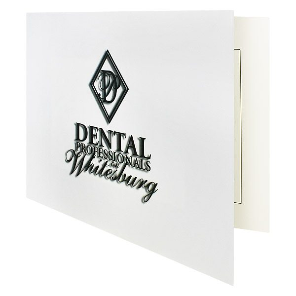 Dentist Photo Folders for Dental Professionals (Front Open View)