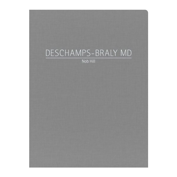 Deschamps-Braly Medical Doctor Presentation Folder (Front View)