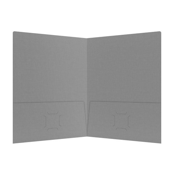 Deschamps-Braly Gray 2-Pocket Folder (Inside View)