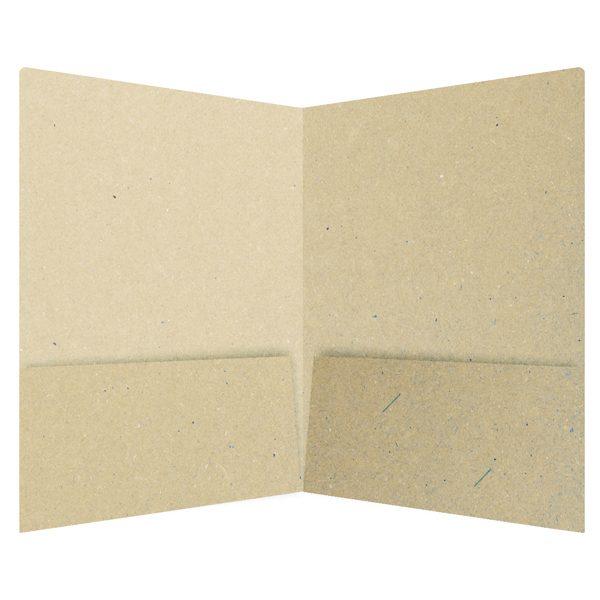 Diablo Solar Services Environmentally Friendly Pocket Folder (Inside View)