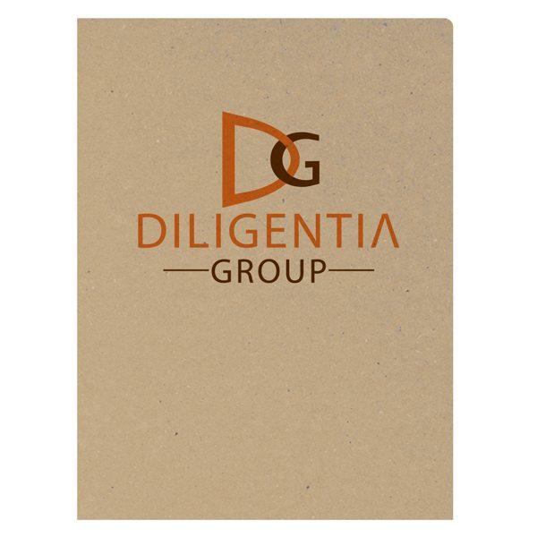 Diligentia Private Investigators Presentation Folder (Front View)