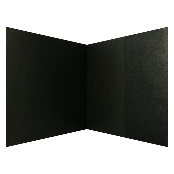 Downtown Grille Black Interior 2-Panel Folder (Inside View)