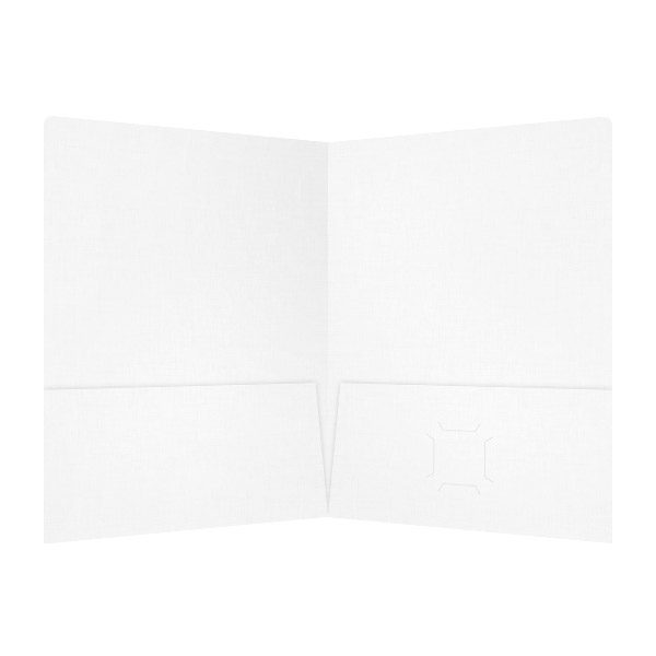 Dr. Schoenbeck White as Teeth 2-Pocket Folder (Inside View)