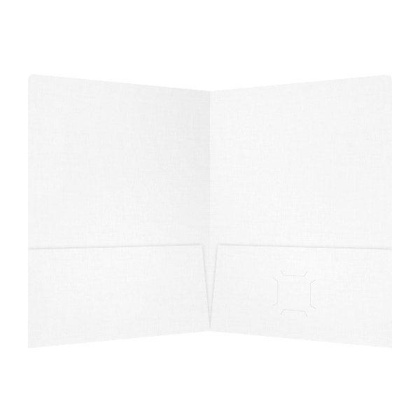 Dr. Schoenbeck White as Teeth 2-Pocket Folder (Inside View)