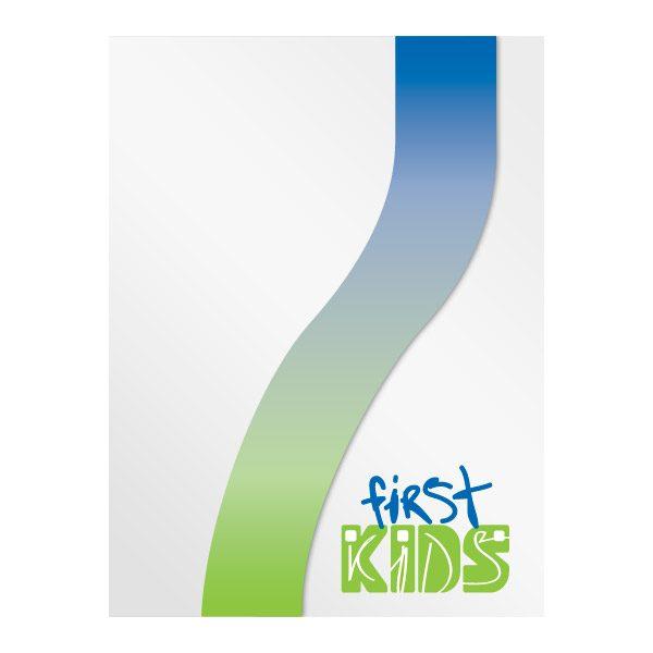 Houston's First Baptist Church Kids Presentation Folder (Front View)