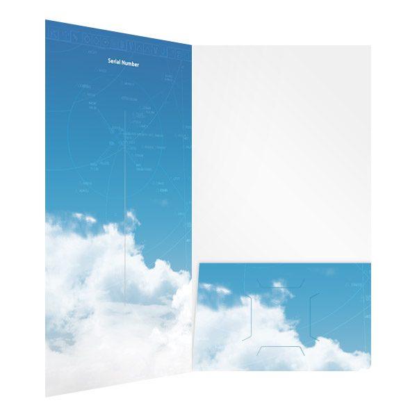 Flight1 Software CD Pocket Folder (Inside Right View)