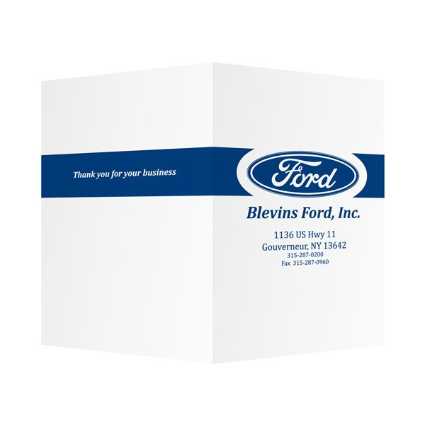 Ford Motor Company Presentation Folder (Front-Back View)