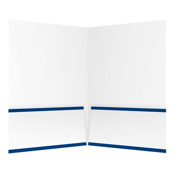 Blevins Ford, Inc. Two Pocket Presentation Folder (Inside View)