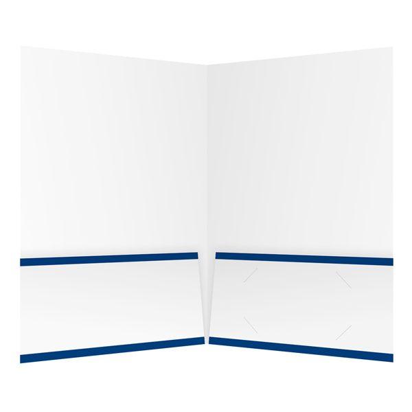 Blevins Ford, Inc. Two Pocket Presentation Folder (Inside View)