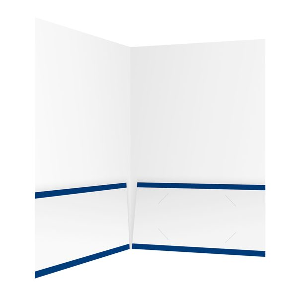 Blevins Ford, Inc. Blue and White Pocket Folder (Inside Right View)