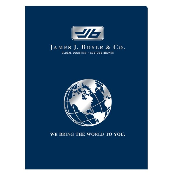 James J. Boyle & Co. Logo Presentation Folder (Front View)