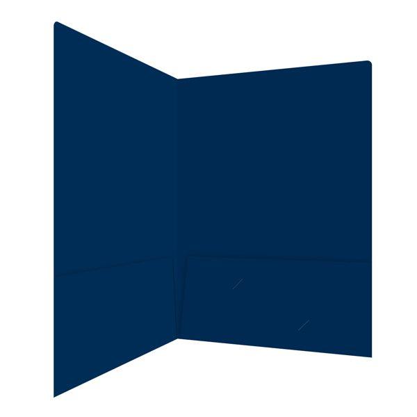 James J. Boyle & Co. Navy Blue Pocket Folder (Inside Right View)