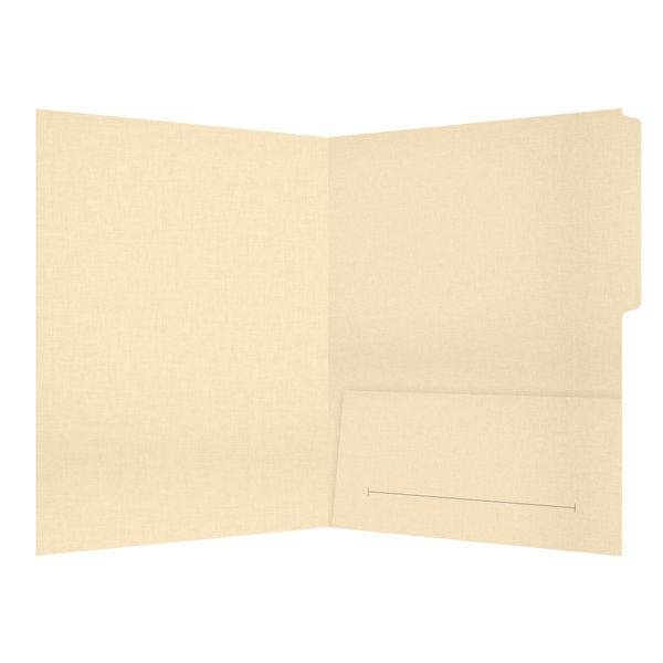 Hamburger Company File Folder with Brochure Slit