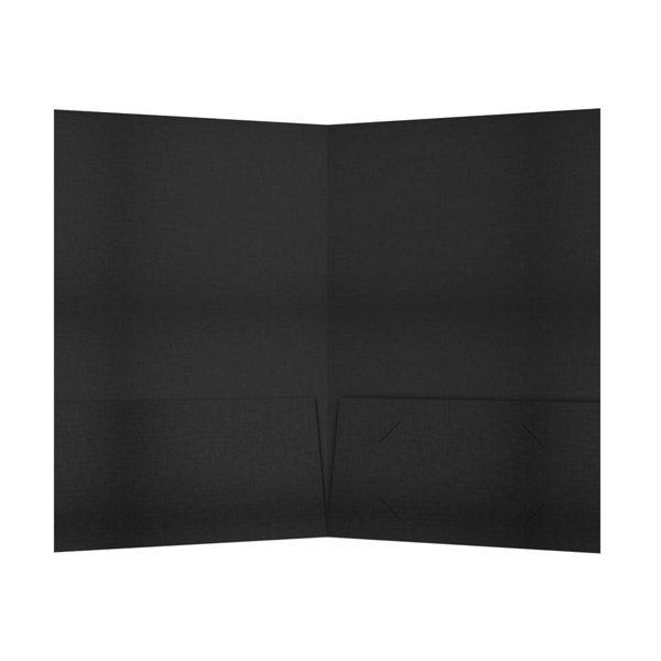 HarperCollins 2-Pocket Foil Folder (Inside View)