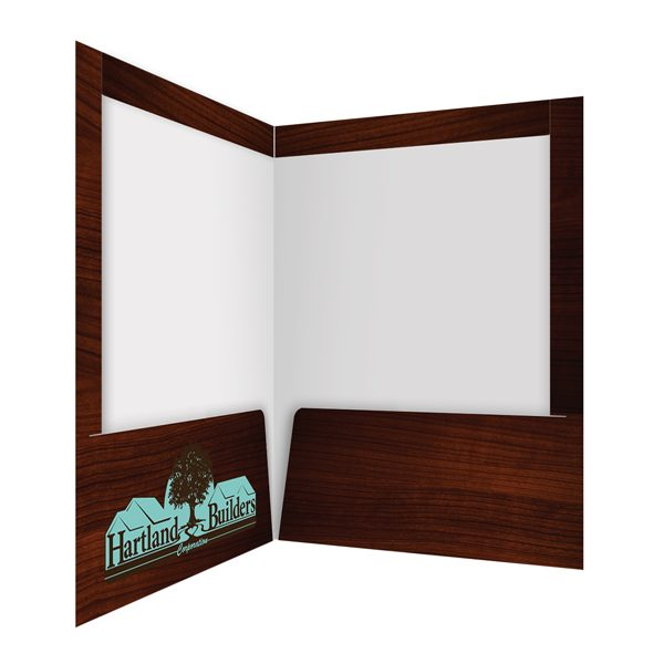 Hartland Builders Teal Logo Folder (Inside Right Panel)