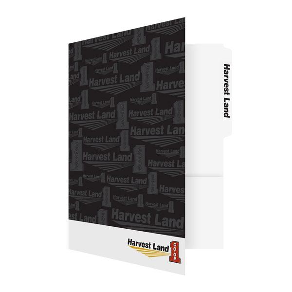 Harvest Land Co-Op Marketing Folder (Front Open View)