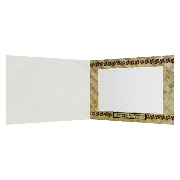 Ka'anapali Cardboard Photo Folder (Inside View)