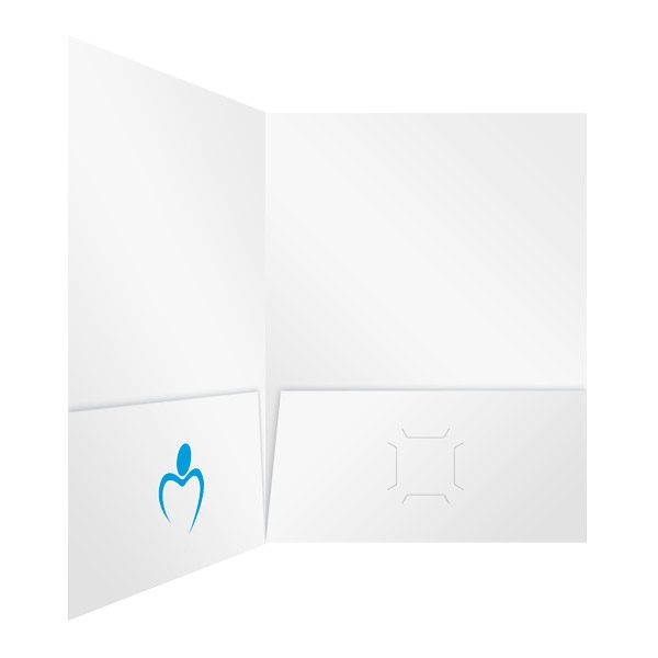 Heritage Healthcare Heart Logo Folder (Inside Right View)