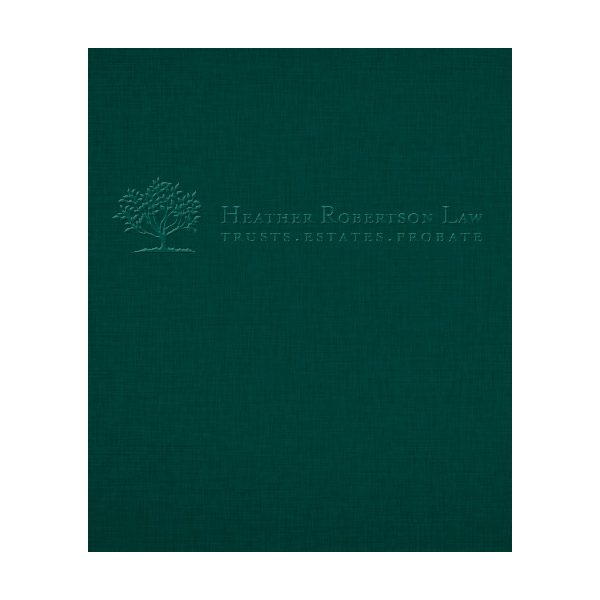Heather Robertson Estate Planning Presentation Folder (Front View)