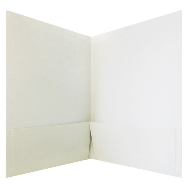 Henley-Putnam University Blank 2-Pocket Folder (Inside View)