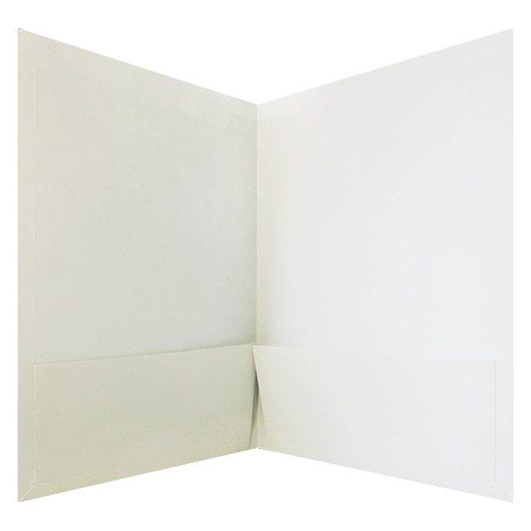 Henley-Putnam University Blank 2-Pocket Folder (Inside View)