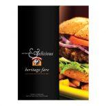 Heritage Fare Specialty Food Presentation Folder
