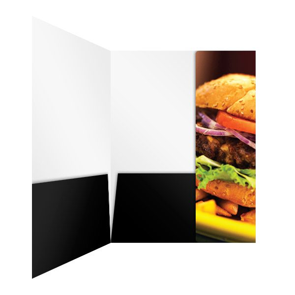 Heritage Fare Specialty Food Pocket Folder (Inside Panel View)