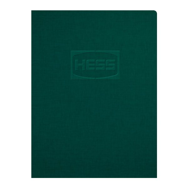 Hess Corporation Embossed Pocket Folder (Front View)