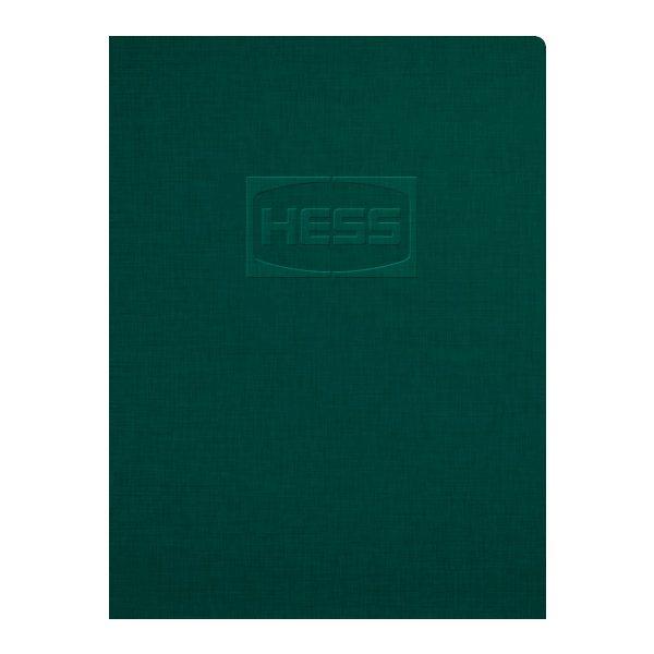 Hess Corporation Embossed Pocket Folder (Front View)