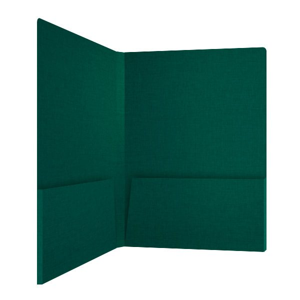 Hess Corporation Green Marketing Folder (Inside Right View)