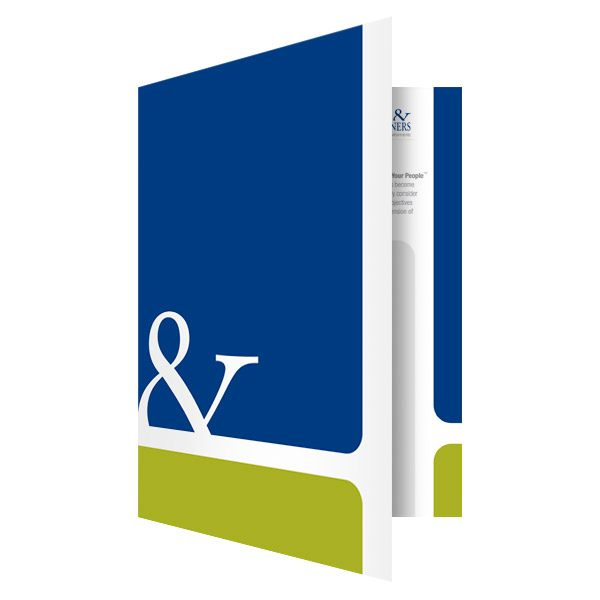 Hill & Partners Marketing Folder (Front Open View)