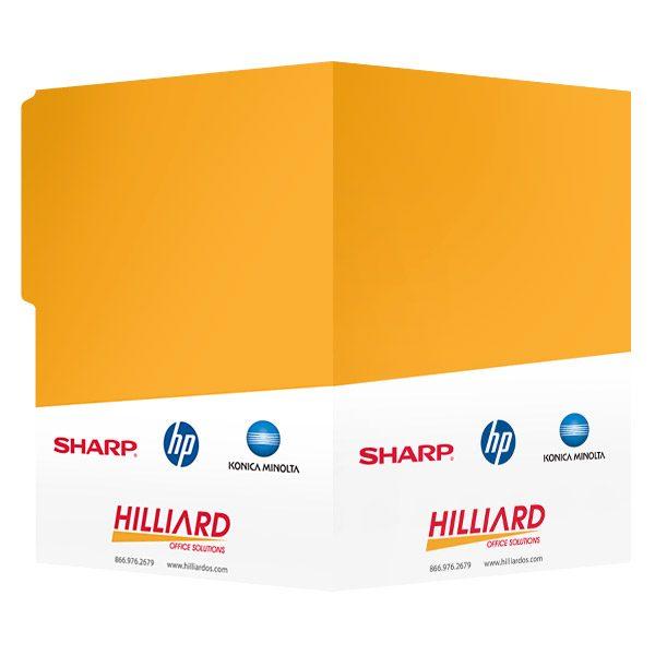 folder design  proposal presentation folders for hilliard office