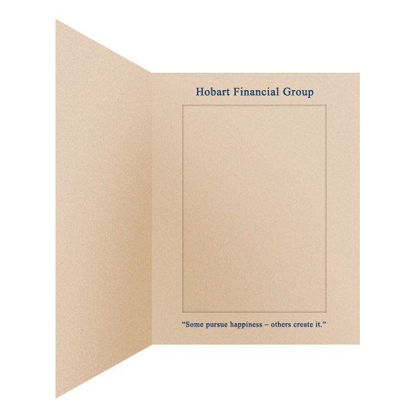 Slip-In Photo Folders by Hobart Financial Group (Inside Right View)