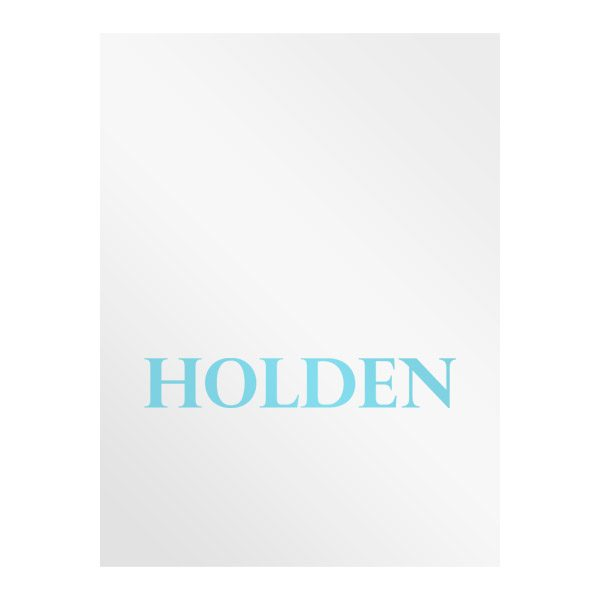 Holden Cosmetic Surgery Presentation Folder (Front View)