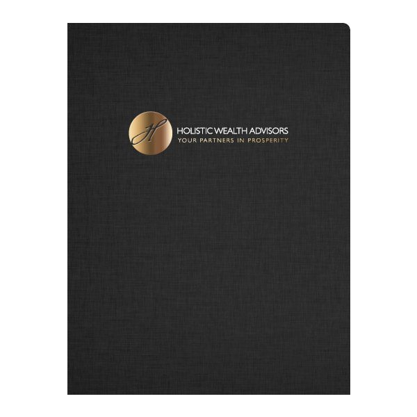 Holistic Wealth Advisors Financial Planning Folder (Front View)