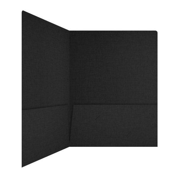 Holistic Wealth Advisors Matte Black Presentation Folder (Inside Right View)