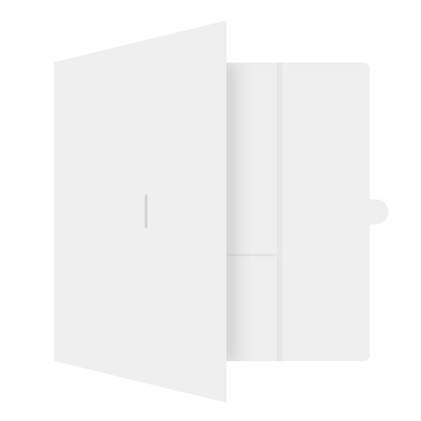 ITS/Magellan Hotel Tri-Fold Pocket Folder (Front Open View)