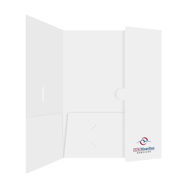 ITS/Magellan 2-Pocket Hotel Folder (Inside Panel View)