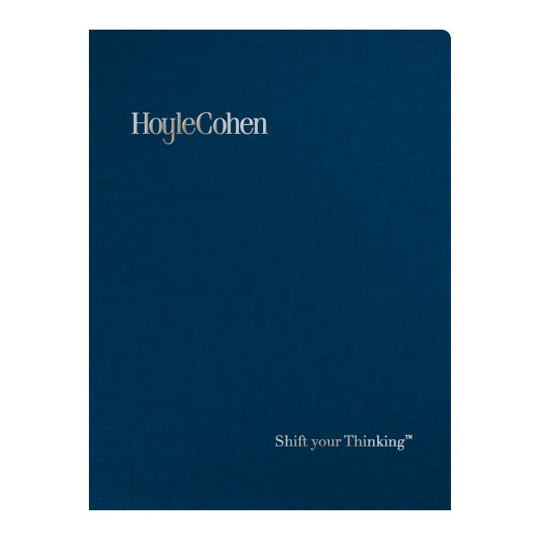 HoyleCohen Financial Report Folder (Front View)