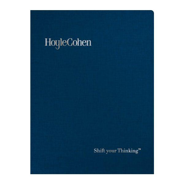HoyleCohen Financial Report Folder (Front View)