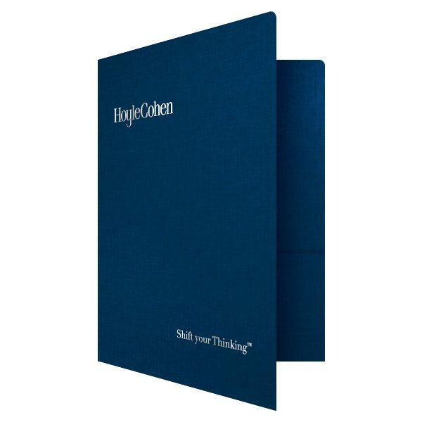 HoyleCohen Wealth Planning Presentation Folder (Front Open View)