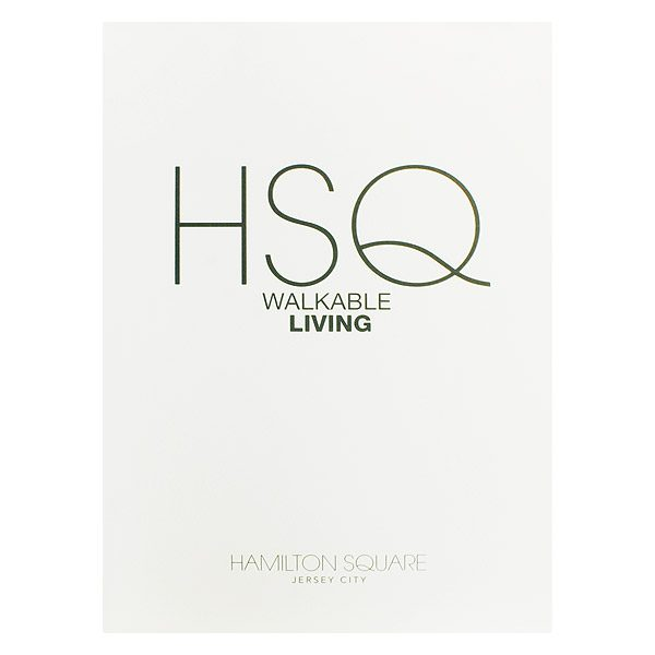 HSQ Apartments Real Estate Marketing Folder (Front View)