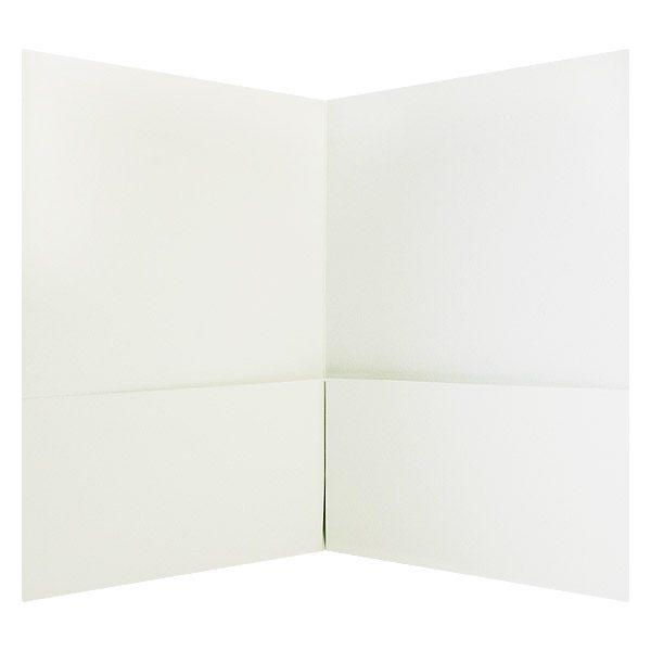 Hamilton Square Simple Design Pocket Folder (Inside View)