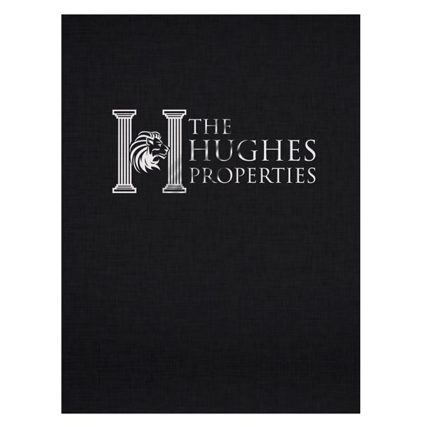 Hughes Properties Commercial Real Estate Folder (Front View)