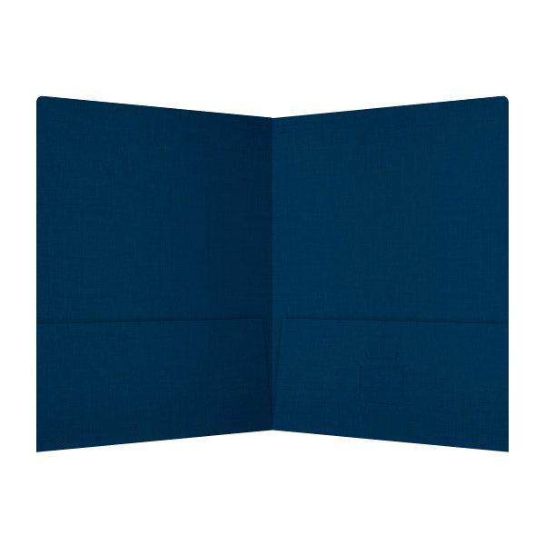 Hugo Silva's Custom Made Presentation Folder (Inside View)