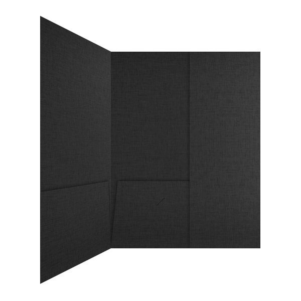 IAS Tri-fold 3 Pocket Folder (Inside Panel View)