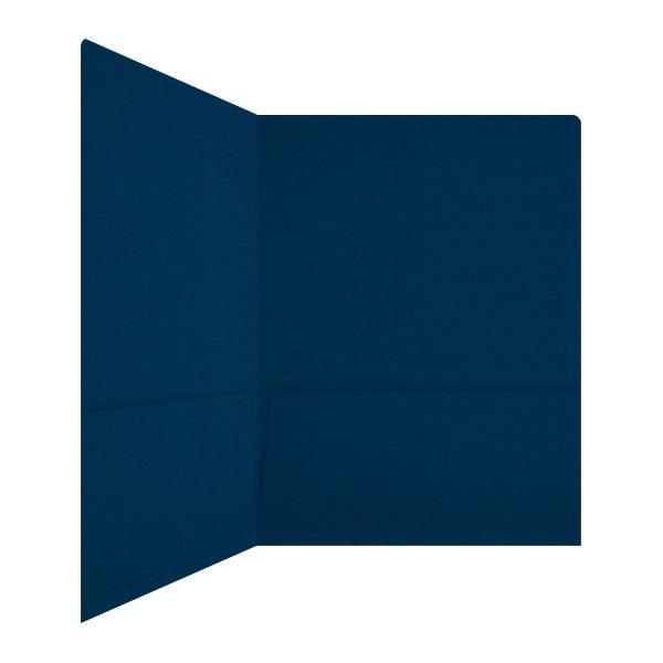 IBM Foil Stamped 2-Pocket Folder (Inside Right View)